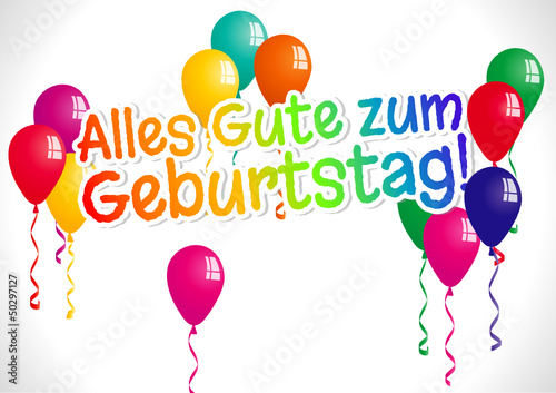 Поздравление по-немецки с днем рождения