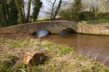 Gallox Bridge Dunster Somerset England