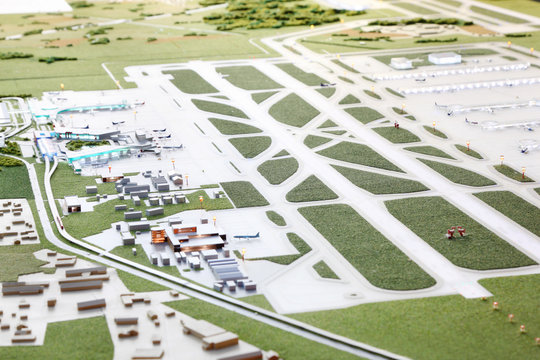 Layout of Airport