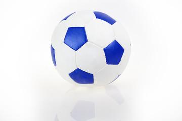 football (soccer) ball, on white background