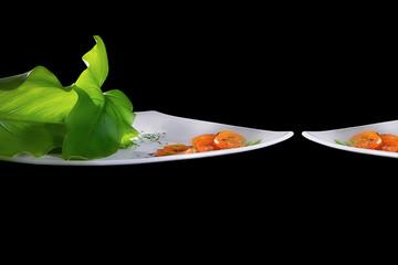 Tomato Salad. Creative Cuisine