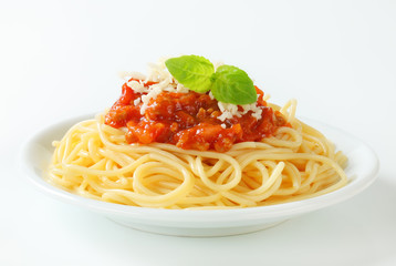 Photo Stands Ready meals Spaghetti Bolognese