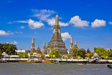Poster Bangkok Wat Arun Ratchawararam Ratchawaramahawihan in Thailand