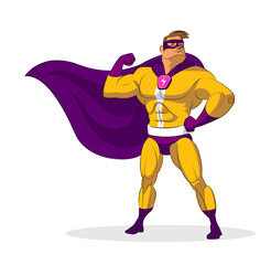 Aluminium Prints Superheroes Super hero