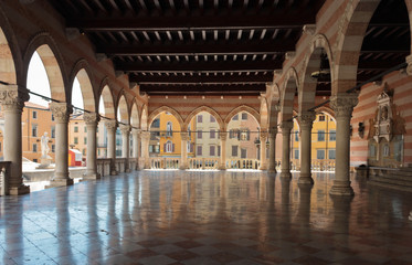 Lionello's balcony in Udine