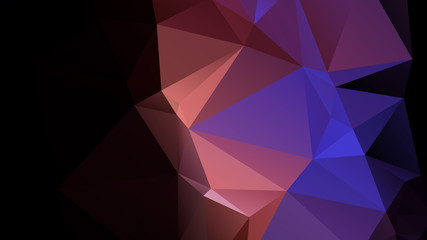 Black blue orange Geometric background vector eps 10
