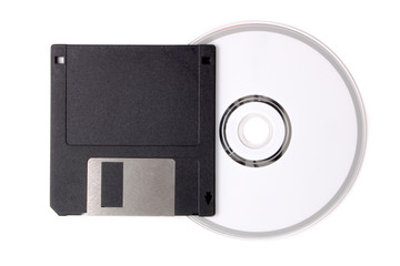 Diskette to CD