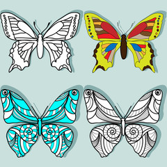 vector butterflies for your design