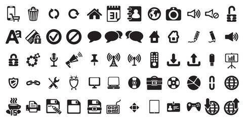 universal web icons set . Vector illustration