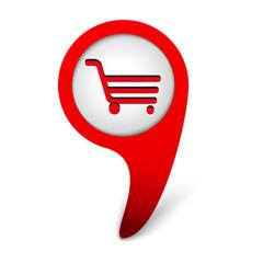 vector shop icon web design element