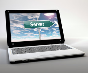 "Mobile Thin Client / Netbook ""Server"""
