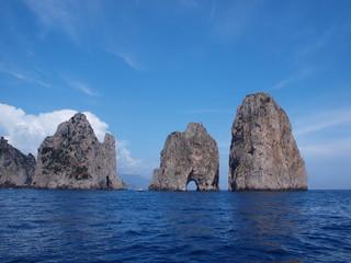 Faraglioni, Capri Island, Italy