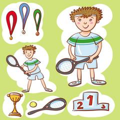 Little Tennis Champion.