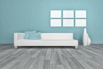 Minimalist Living Room Interior | Modern Architecture