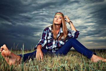 hippi girl