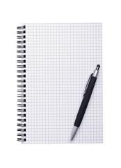 Notizbuch & Kugelschreiber
