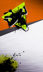 Wall Mural - Handball shot