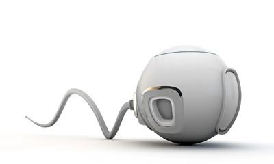 futuristic capsule