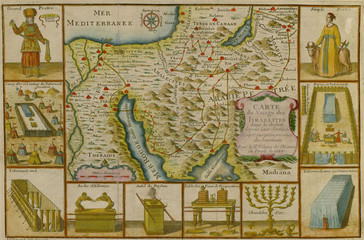 Wall Mural - Arabia old map