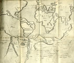 Terra Australis old map