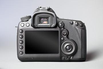 Digitale Spiegelreflex-Kamera - Rückseite