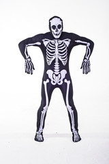 Skeleton costume for Halloween