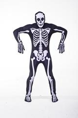 Skeleton costume for Halloween