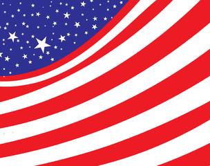 abstact usa flag