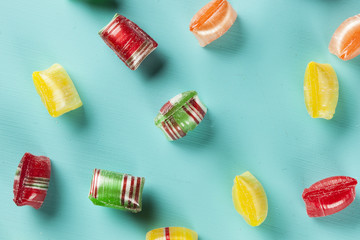 Colorful Sweet Hard Candy Mints