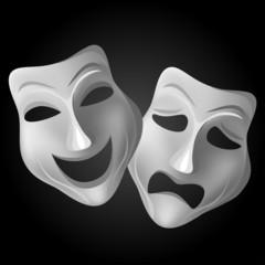Theater mask set