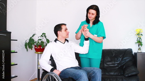 Music therapy for adults with disabilities