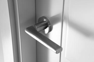 Knob on door