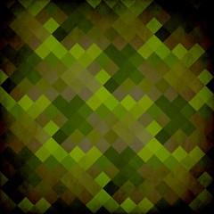 Fotobehang Pixel Retro Grunge Poster Design