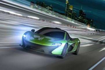 frankfurt city night racer