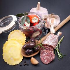 Photo sur Plexiglas Entree Mediterrane Lebensmittel