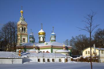 Москва. Никольская церковь.