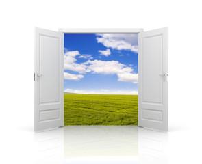 Door to spring