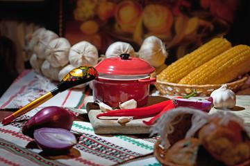 traditional Ukrainian snack