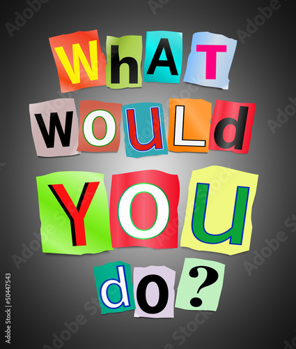 what would you do youtube - HD1000×1176