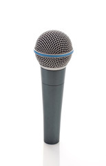 Grey microphone