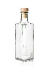 leere Spirituosenflasche