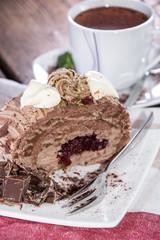 Fresh made Chocolate Cake