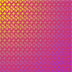 Gradient texture with a circle