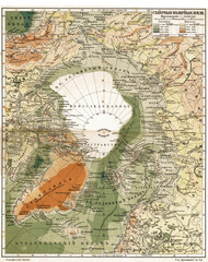 Wall Mural - Arctica vintage map