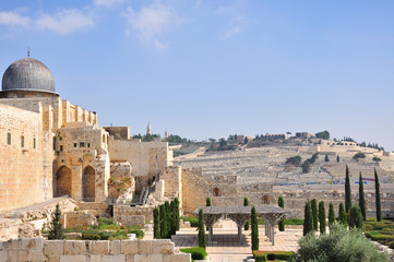 Old Jerusalem Temple Mount