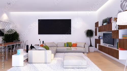 Modernes Wohnzimmer   Modern Living Room