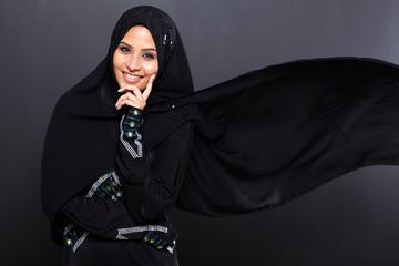 fashionable Arabian woman