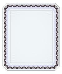 Blank Diploma Template 7