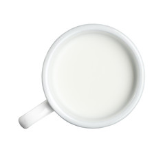 Cup of fresh milk
