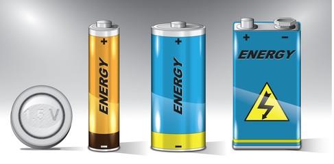 Batteries set